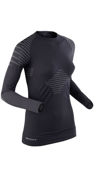 X-Bionic Invent Shirt L/S Women Black/Anthracite
